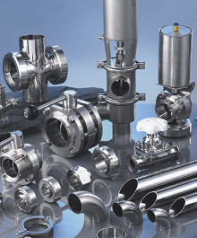 Hygenic Fittings, Valves, & adaptors